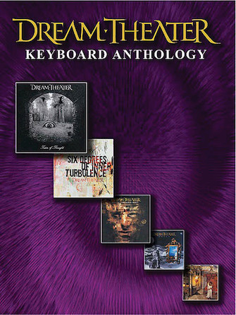 Product Cover for Dream Theater – Keyboard Anthology