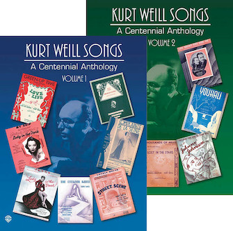 Product Cover for Kurt Weill Songs – A Centennial Anthology - Volumes 1 & 2