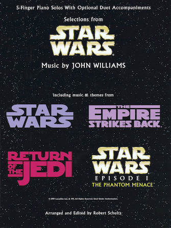 Product Cover for Selections from Star Wars
