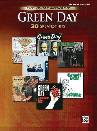 Product Cover for Green Day – Easy Guitar Anthology
