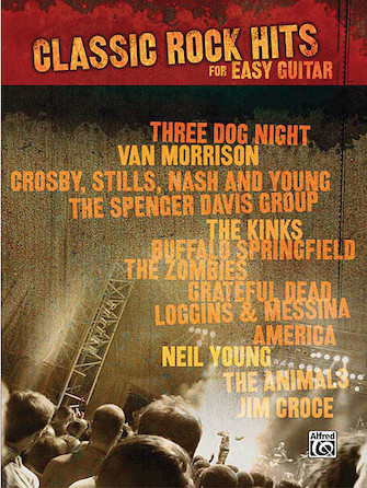Product Cover for Classic Rock Hits for Easy Guitar