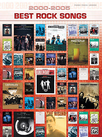 Product Cover for 2000-2005 Best Rock Songs