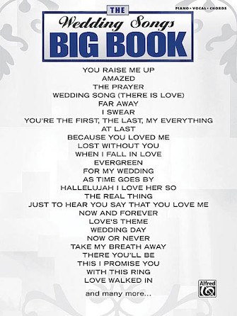 Product Cover for The Wedding Songs Big Book
