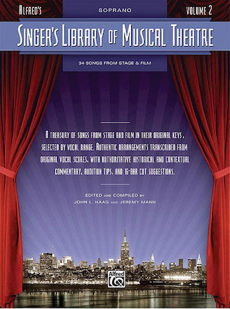 Product Cover for Singer's Library of Musical Theatre – Vol. 2