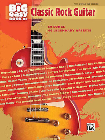Product Cover for The Big Easy Book of Classic Rock Guitar