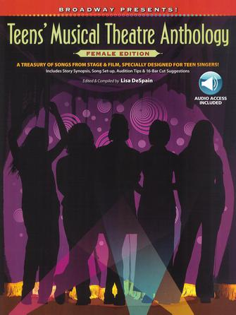 Product Cover for Broadway Presents! Teens' Musical Theatre Anthology: Female Edition