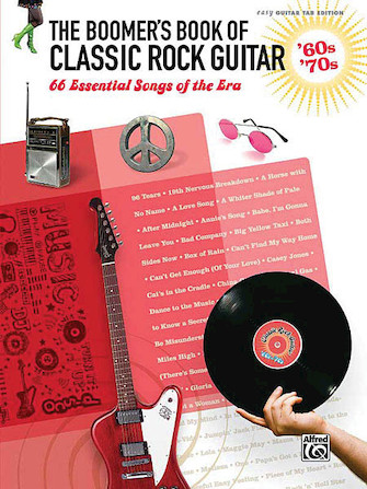 Product Cover for The Boomer's Book of Classic Rock Guitar – '60s - '70s