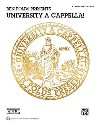 Product Cover for Ben Folds Presents University A Cappella!