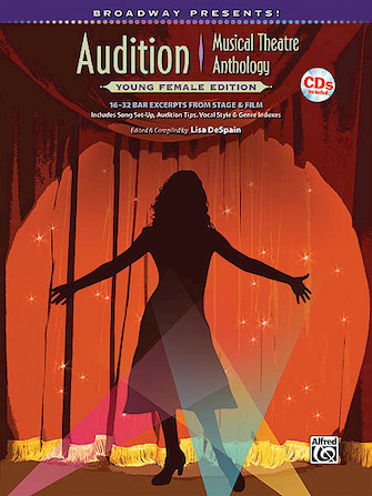 Product Cover for Broadway Presents! Audition Musical Theatre Anthology: Young Female Edition