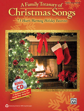Product Cover for A Family Treasury of Christmas Songs