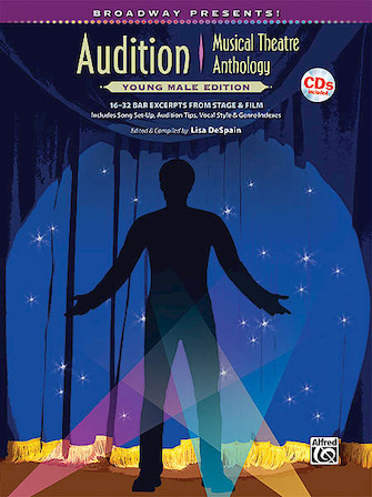 Product Cover for Broadway Presents! Audition Musical Theatre Anthology: Young Male Edition