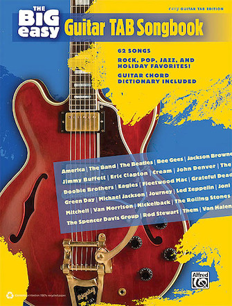 Product Cover for The Big Easy Guitar Tab Songbook