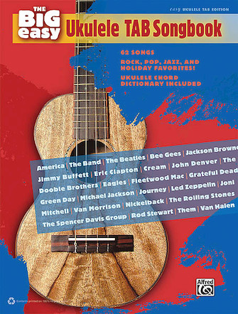 Product Cover for The Big Easy Ukulele Tab Songbook