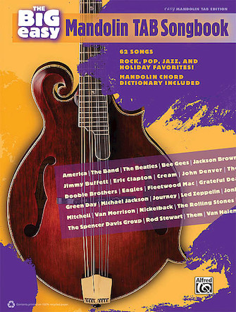Product Cover for The Big Easy Mandolin Tab Songbook