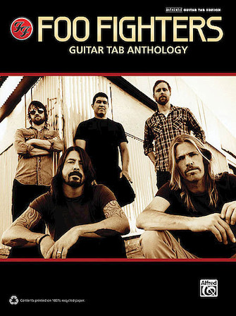 Product Cover for Foo Fighters – Guitar Tab Anthology