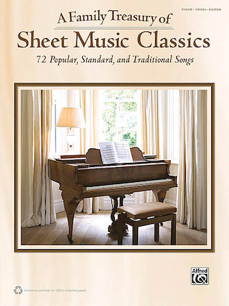 Product Cover for A Family Treasury of Sheet Music Classics