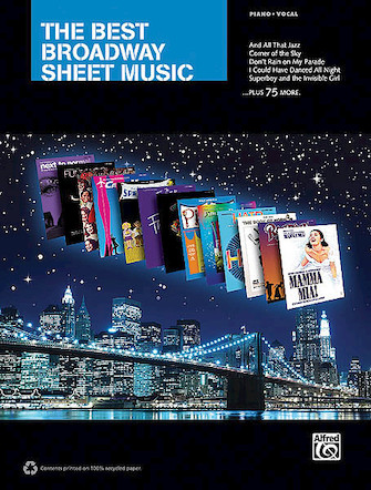 Product Cover for The Best Broadway Sheet Music