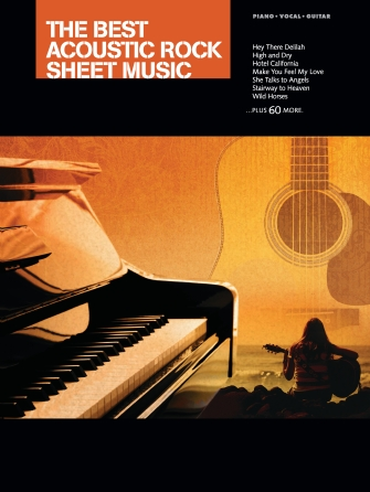 Product Cover for The Best Acoustic Rock Sheet Music