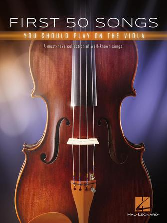 Product Cover for First 50 Songs You Should Play on the Viola