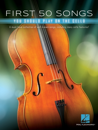 Product Cover for First 50 Songs You Should Play on Cello
