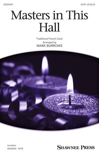 Masters in This Hall : SATB : Mark Burrows : Sheet Music : 00322969 : 888680977078 : 1540070158