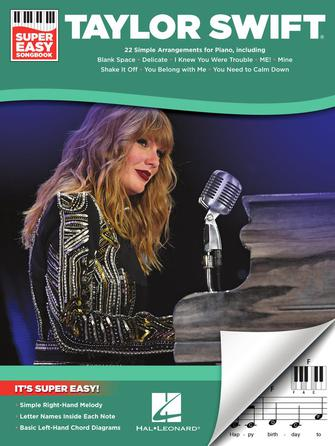 Product Cover for Taylor Swift – Super Easy Songbook