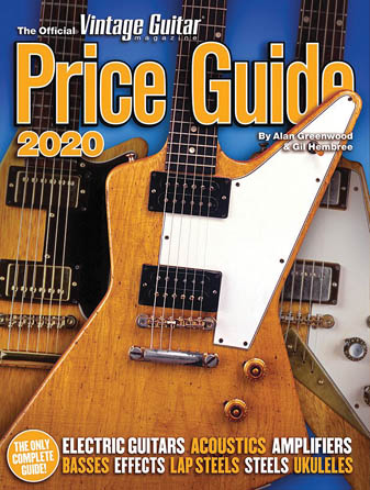 Product Cover for The 2020 Official Vintage Guitar Magazine Price Guide
