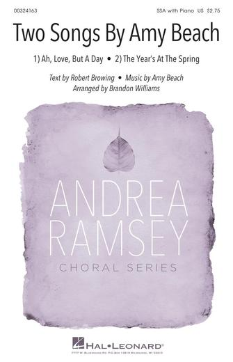 Product Cover for Two Songs by Amy Beach