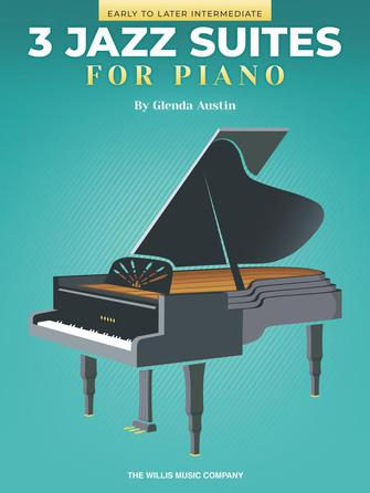 Product Cover for Three Jazz Suites for Piano
