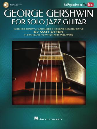 Product Cover for George Gershwin for Solo Jazz Guitar