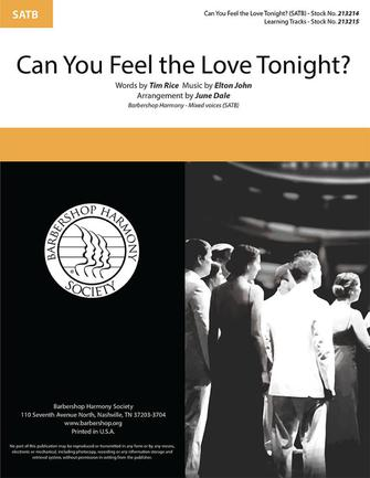 Product Cover for Can You Feel the Love Tonight?