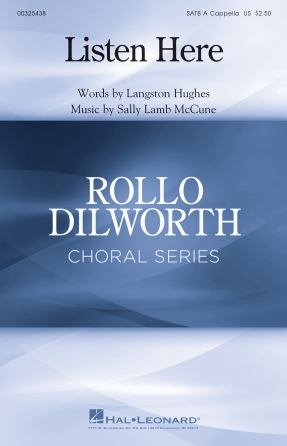 Listen Here : SATB divisi : Sally Lamb McCune : Sally Lamb McCune : Sheet Music : 00325438 : 888680986308