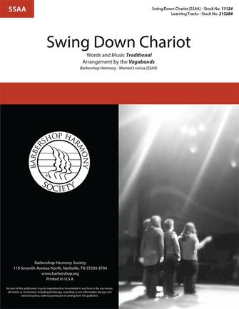 Swing Down Chariot : SSAA : The Vagabonds : Sheet Music : 00325466 : 812817022096