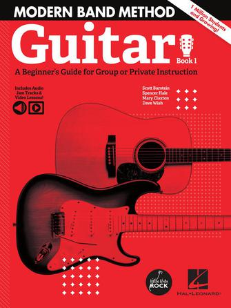 Product Cover for Modern Band Method – Guitar, Book 1
