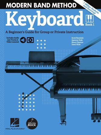 Product Cover for Modern Band Method – Keyboard, Book 1