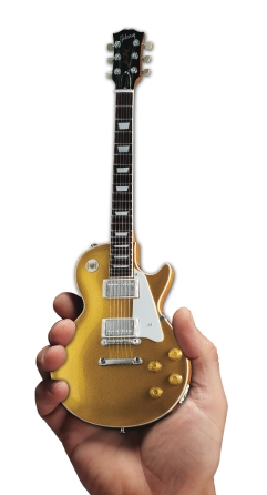 Product Cover for Gibson 1957 Les Paul Gold Top Mini Guitar Replica