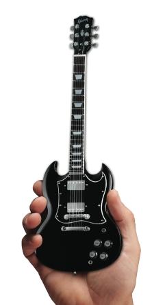 Product Cover for Gibson SG Standard Ebony Mini Guitar Replica