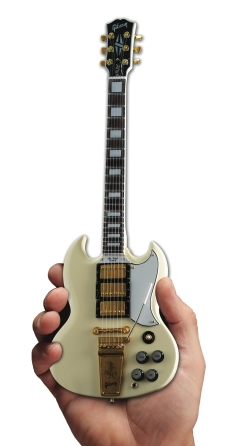 Product Cover for Gibson 1964 SG Custom White Mini Guitar Replica