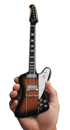 Product Cover for Gibson Firebird V Vintage Sunburst Mini Guitar Replica