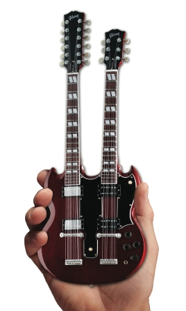 Product Cover for Gibson SG Eds-1275 Doubleneck Cherry Mini Guitar Replica