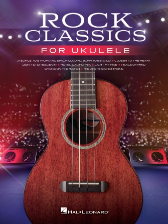 Product Cover for Rock Classics for Ukulele