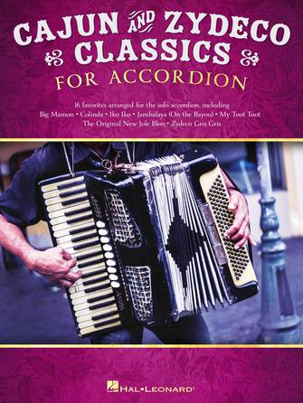 Product Cover for Cajun & Zydeco Classics for Accordion