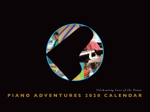Product Cover for Piano Adventures 2020 Calendar