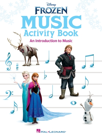 Product Cover for Frozen Music Activity Book