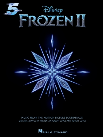 Product Cover for Frozen 2 Five-Finger Piano Songbook