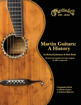 Product Cover for Martin Guitars: A History