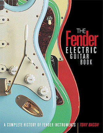 Product Cover for The Fender Electric Guitar Book – 3rd Edition