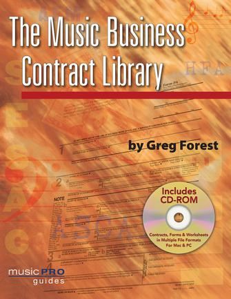 Product Cover for The Music Business Contract Library