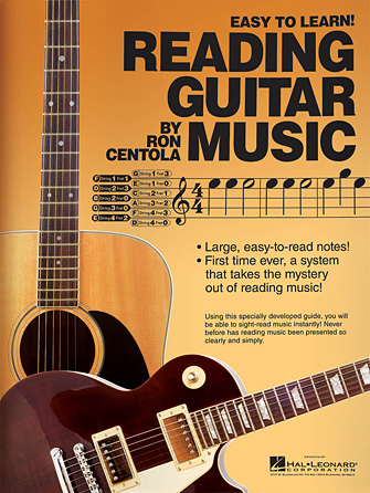 Product Cover for Reading Guitar Music