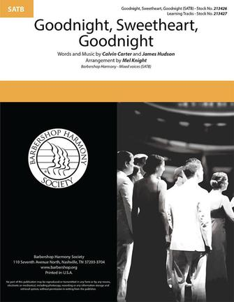 Goodnight, Sweetheart, Goodnight : SATB : Mel Knight : Sheet Music : 00333998